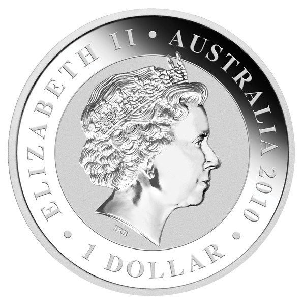2010 P Australian Koala obverse