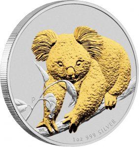 2010 P Australian Koala reverse