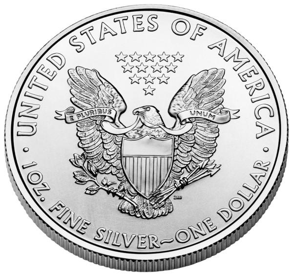 2011 silver eagle reverse