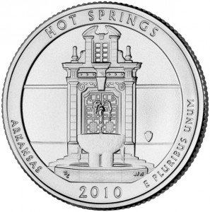 2010 hot springs national park coin