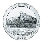 2010 mount hood national forest coin