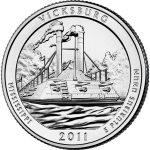 2011 vicksburg national park coin
