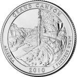 grand canyon national park coin
