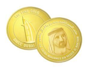 Khalifa Gold Bullion Coin Prototype Unveiled By The Uae