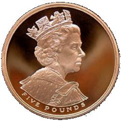 queen elizabeth gold jubilee obverse